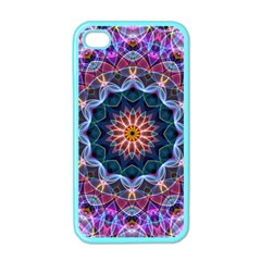 Purple Lotus Apple Iphone 4 Case (color) by Zandiepants