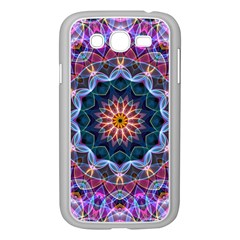 Purple Lotus Samsung Galaxy Grand Duos I9082 Case (white) by Zandiepants