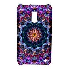 Purple Lotus Nokia Lumia 620 Hardshell Case by Zandiepants