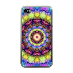 Rainbow Glass Apple Iphone 4 Case (clear) by Zandiepants