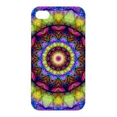 Rainbow Glass Apple Iphone 4/4s Hardshell Case by Zandiepants