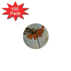 Monarch 1  Mini Button Magnet (100 Pack) by rokinronda