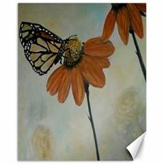 Monarch Canvas 11  X 14  (unframed) by rokinronda