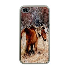 Pretty Pony Apple Iphone 4 Case (clear) by Rbrendes