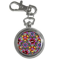 Bright Colors Key Chain Watch
