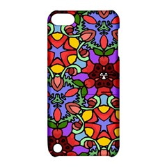 Bright Colors Apple iPod Touch 5 Hardshell Case with Stand by Rbrendes