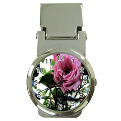 Rose Money Clip With Watch by Rbrendes