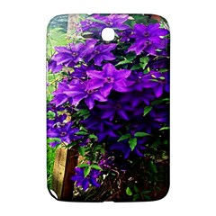 Purple Flowers Samsung Galaxy Note 8.0 N5100 Hardshell Case  by Rbrendes