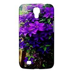 Purple Flowers Samsung Galaxy Mega 6 3  I9200 Hardshell Case