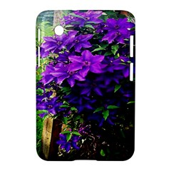 Purple Flowers Samsung Galaxy Tab 2 (7 ) P3100 Hardshell Case  by Rbrendes