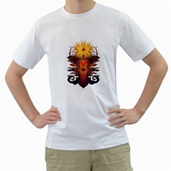Eyedeer Men s T Shirt (white)  by Contest1920010