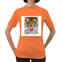 TIGER  Women s T-shirt (Colored) by Contest1918014