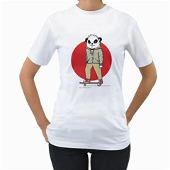 Cute Skater Women s T Shirt (white)  by Contest1915162