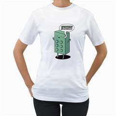 Everything is awesome Women s T-Shirt (White)  by Contest1915162