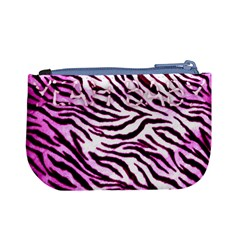 Pink Zebra By Charley Heselti   Mini Coin Purse   Zyfy3ges9uac   Www Artscow Com Back