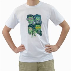 Fungky Teenage Mutant  Ninja Turtle Men s T-Shirt (White)  by Contest1736674