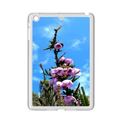 Pink Flower Apple Ipad Mini 2 Case (white)