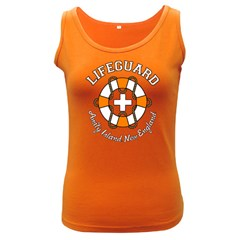 Lifeguard Amity Island Women s Tank Top (dark Colored) by chivieridesigns
