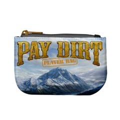 Pay Dirt   Player Bag   Orange By Rainer Ahlfors   Mini Coin Purse   Gg2fejzwkoty   Www Artscow Com Front