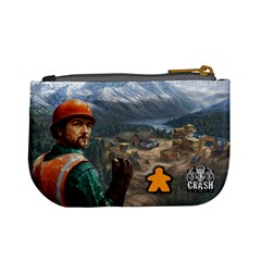 Pay Dirt   Player Bag   Orange By Rainer Ahlfors   Mini Coin Purse   Gg2fejzwkoty   Www Artscow Com Back