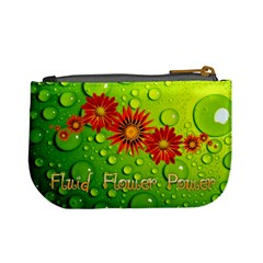 Fluid Flower Power Picture Coin Purse Hippy By Charley Heselti   Mini Coin Purse   3d5sf545osls   Www Artscow Com Back