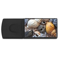 Beach Treasures 4GB USB Flash Drive (Rectangle) by StuffOrSomething
