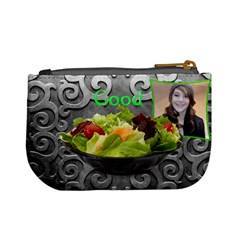 What s For Lunch   Burger Salad Naughty Good Coin Purse By Charley Heselti   Mini Coin Purse   Gj9kckybd3i5   Www Artscow Com Back