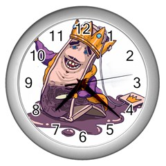 Royaltea Wall Clock (silver)