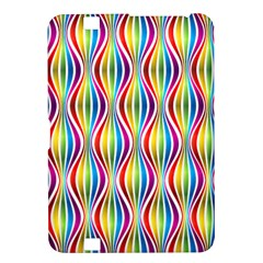 Rainbow Waves Kindle Fire Hd 8 9  Hardshell Case by Colorfulplayground
