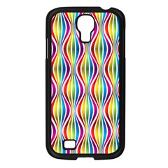 Rainbow Waves Samsung Galaxy S4 I9500/ I9505 Case (black) by Colorfulplayground