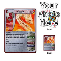 Heroscape Set 3 By Brian   Multi Purpose Cards (rectangle)   B9g906e65n10   Www Artscow Com Front 21
