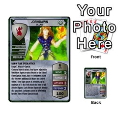 Heroscape Set 3 By Brian   Multi Purpose Cards (rectangle)   B9g906e65n10   Www Artscow Com Front 29