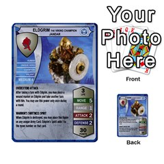 Heroscape Set 3 By Brian   Multi Purpose Cards (rectangle)   B9g906e65n10   Www Artscow Com Front 4