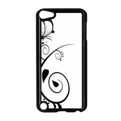 Floral Butterfly Design Apple Ipod Touch 5 Case (black) by OneStopGiftShop
