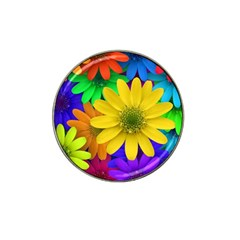 Gerbera Daisies Golf Ball Marker 4 Pack (for Hat Clip) by StuffOrSomething