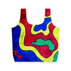 Abstract Reusable Bag (m) by Siebenhuehner