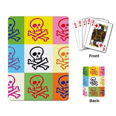 Skull Playing Cards Single Design by Siebenhuehner