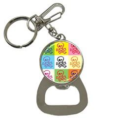 Skull Bottle Opener Key Chain by Siebenhuehner