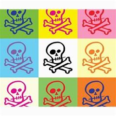 Skull Canvas 20  X 24  (unframed) by Siebenhuehner
