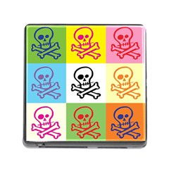 Skull Memory Card Reader With Storage (square) by Siebenhuehner