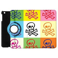 Skull Apple Ipad Mini Flip 360 Case by Siebenhuehner