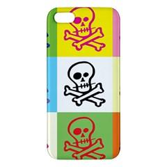 Skull Iphone 5s Premium Hardshell Case by Siebenhuehner