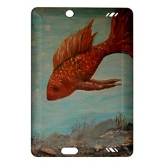 Gold Fish Kindle Fire HD 7  (2nd Gen) Hardshell Case by rokinronda