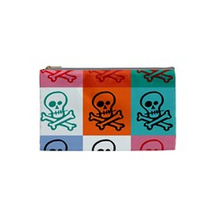 Skull Cosmetic Bag (small) by Siebenhuehner