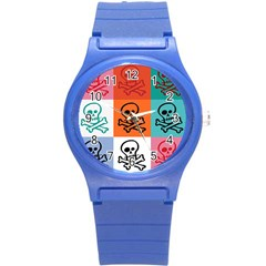 Skull Plastic Sport Watch (small) by Siebenhuehner