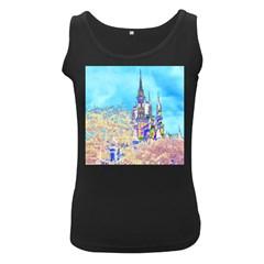 Castle For A Princess Women s Tank Top (black) by rokinronda