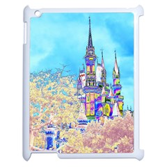 Castle For A Princess Apple Ipad 2 Case (white) by rokinronda
