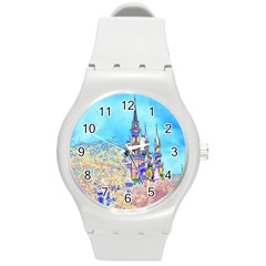Castle For A Princess Plastic Sport Watch (medium) by rokinronda