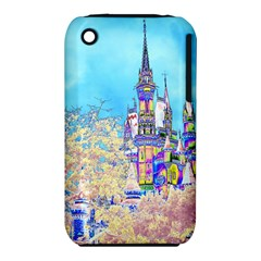 Castle For A Princess Apple Iphone 3g/3gs Hardshell Case (pc+silicone) by rokinronda