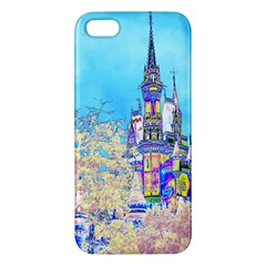 Castle For A Princess Iphone 5s Premium Hardshell Case by rokinronda